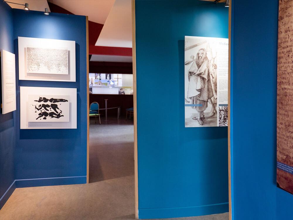 Portraits showcase in Exhibition