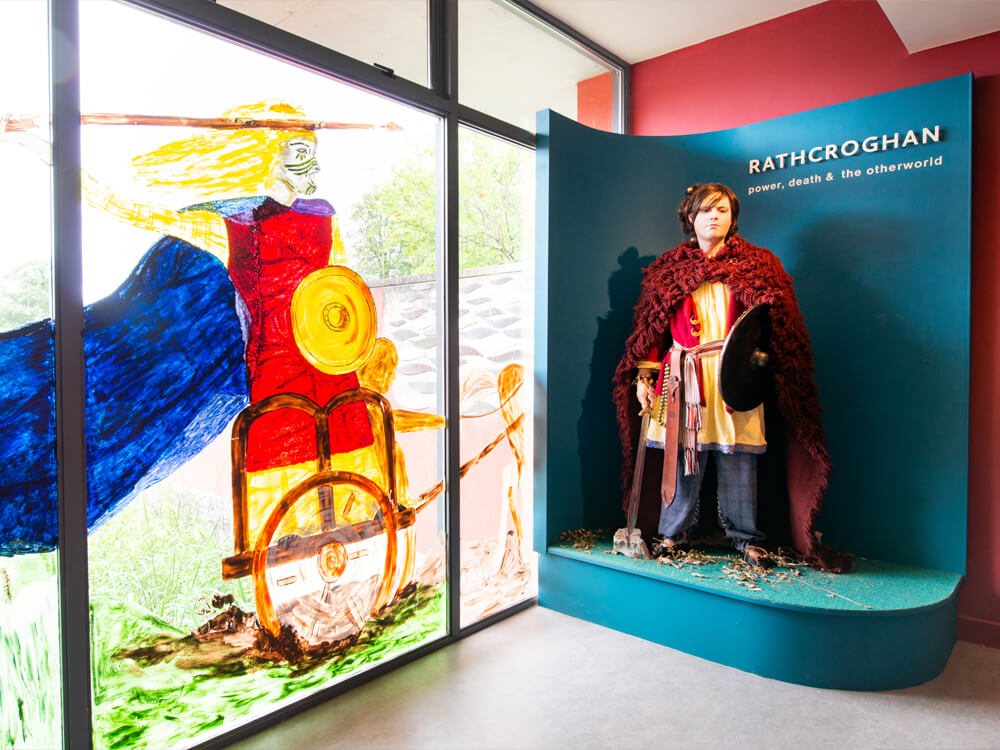exhibition of mannequins dressed in original clothing
