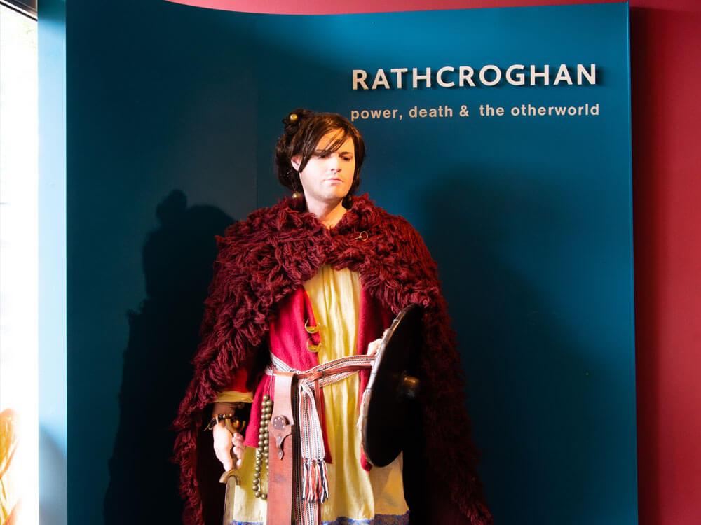 Mannequin at exhibition in original clothing