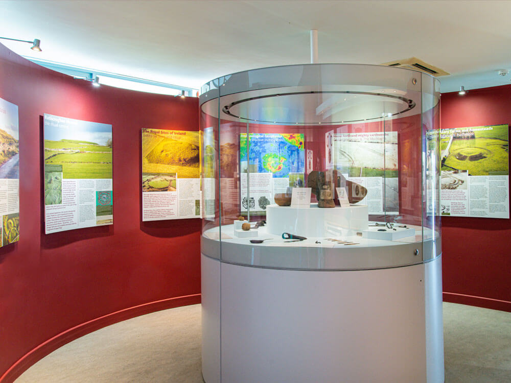 External view of Exhibition at rathcroghan visitor centre