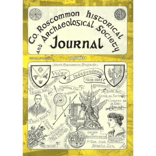 Co. Roscommon Historical and Archaeological Society Journal, Vol 14 (2019)