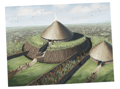 Rathcroghan Mound reconstruction image