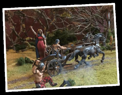 medieval ancestors figurin reconstruction
