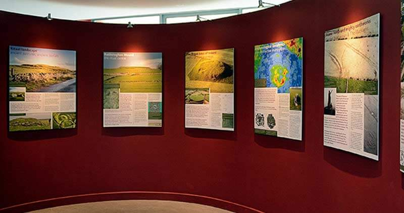 informational exhibition at Rathcroghan visitor centre