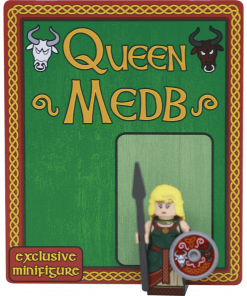 Queen Medb Exclusive Minifigure