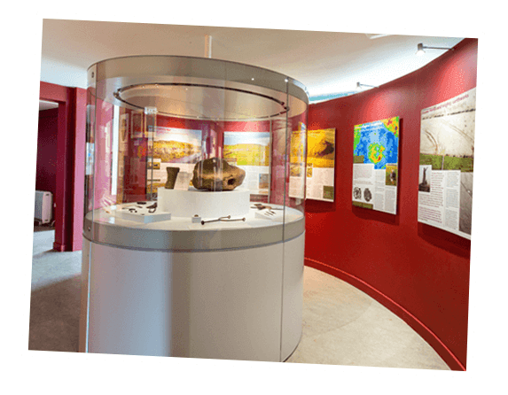 Interior Museum image at rathcroghan centre